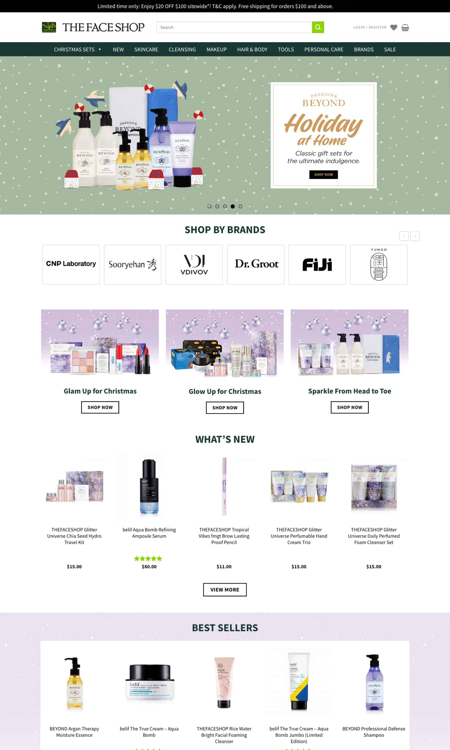 THEFACESHOP Page 1