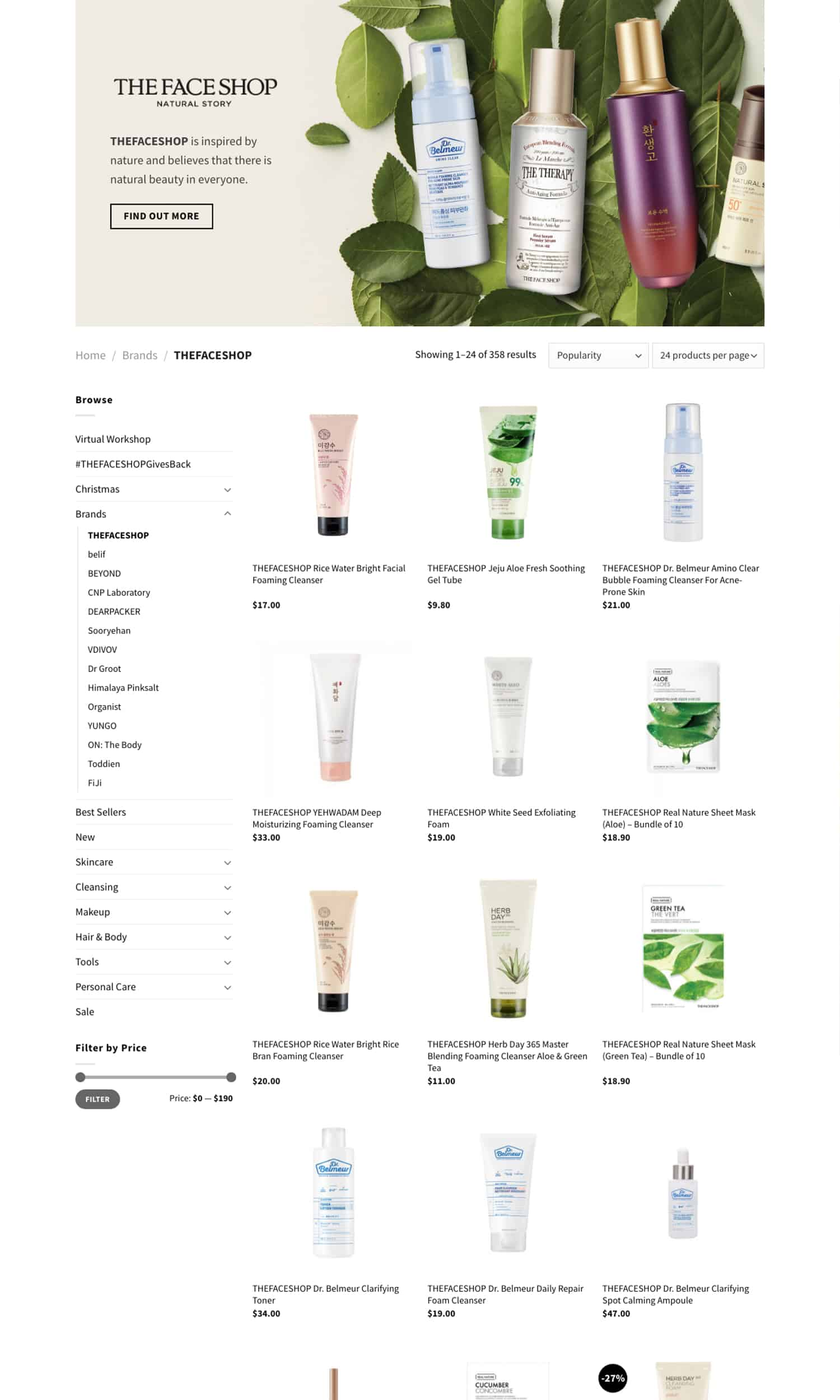 THEFACESHOP Page 3