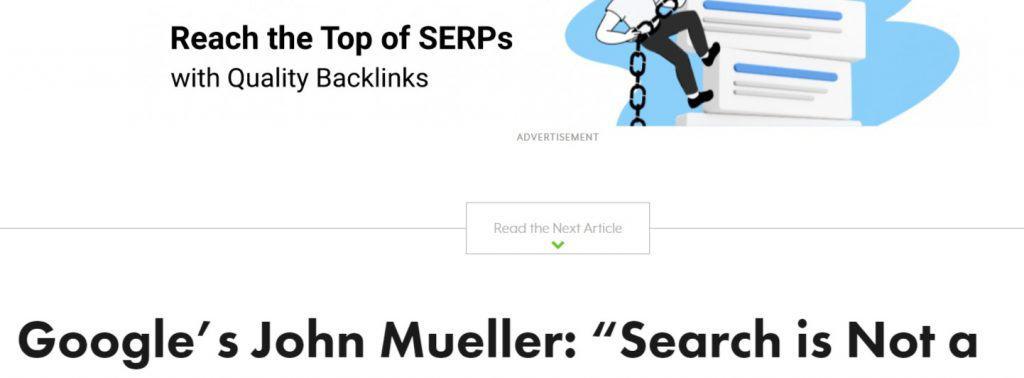 Display ad blog